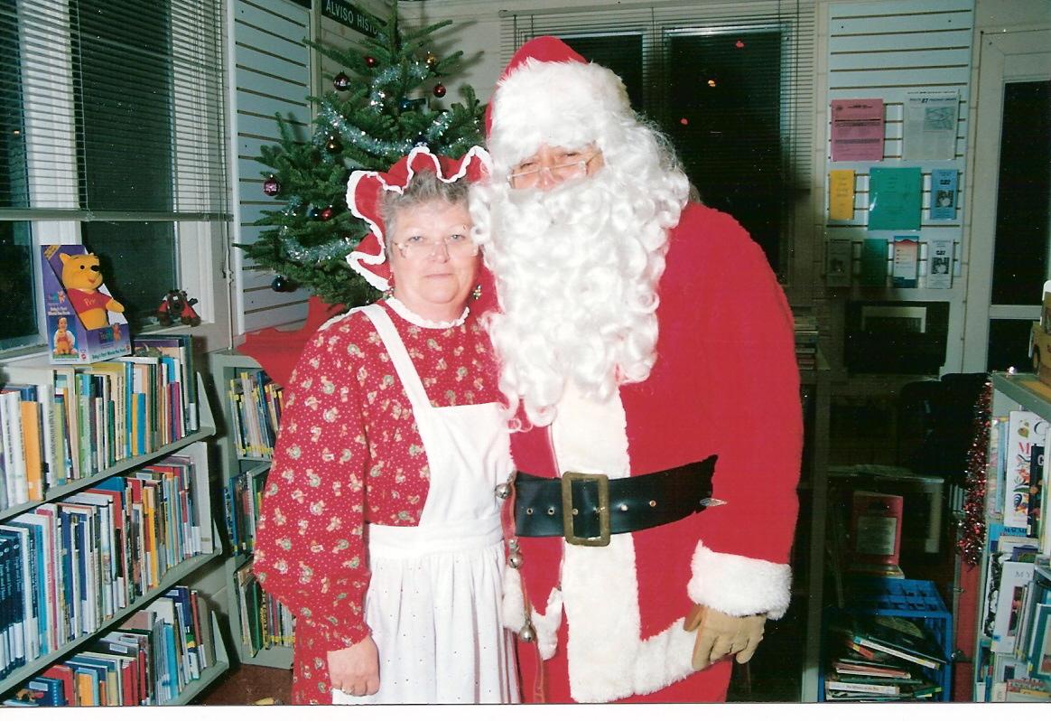 Santa & Mrs Claus 12-2-94