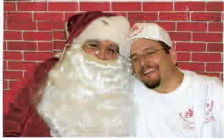 Mikey & Santa